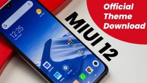 miui 12 theme download in free